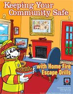 The NFPA's page on Home Fire Escape Planning. Links and resources to help you make your own plan. #safety #prevention