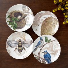 Decorative Nest & Hive Plates