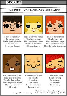 Bonjour FLE lots of cool stuff French Teaching Resources, Teaching French, Teaching Spanish, How To Speak French, Learn French, French Body Parts, French Basics, French Adjectives, French Flashcards