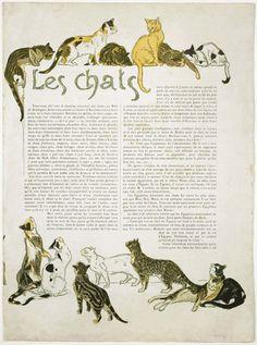 Illustrations by Théophile-Alexandre Steinlen - 1898~1901