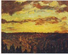 """View of Jerusalem"" by Sir Winston Churchill"