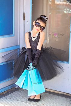 Hey, I found this really awesome Etsy listing at https://www.etsy.com/listing/227677971/breakfast-at-tiffanys-tutu-dress-costume