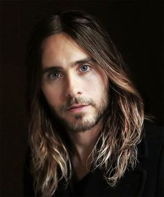 Jared Leto (American Actor) looking awesome with long har