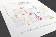 Timeline Vector Template ~ Presentation Templates on Creative Market