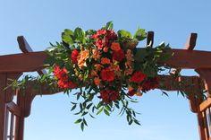 Heavenly Resort Wedding - Enchanted Florist