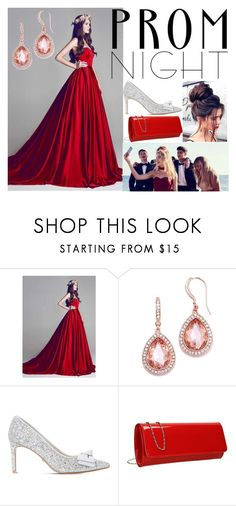 """""""Prom Night"""" by princess-hadid-malik ❤ liked on Polyvore featuring David's Bridal and Dune"""