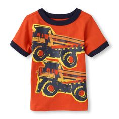 The Childrens Place - Little boys love trucks…and this tee!