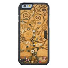 Tree of Life by Gustav Klimt Carved& Maple iPhone 6 Bumper Gustav Klimt, Tree Of Life, Samsung Cases, Iphone Case Covers, Gifts For Women, Iphone 6, Carving, Wood, Fashion Women