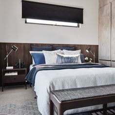 Duette Shades, Bedroom 3 - Alisa & Lysandra - Albert Park Project
