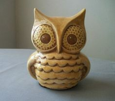 Vintage Ceramic Owl Decor for the Home or Garden by TLCCeramicsIL, $24.00