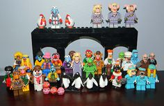legos | The updated Muppet LEGO Family... and knowing me, there are more on ...
