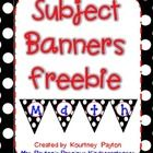 These banners are black with white polka dots and primary color writing. Hole punch each corner and connect with ribbon and they are ready to hang on your focus walls :) Included Math Reading Writing. Beginning Of The School Year, Hole Punch, Reading Nook, Primary Colors, Banners, Connect, Polka Dots, Ribbon, Classroom