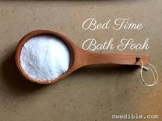 Relaxing Bed Time Bath Soak