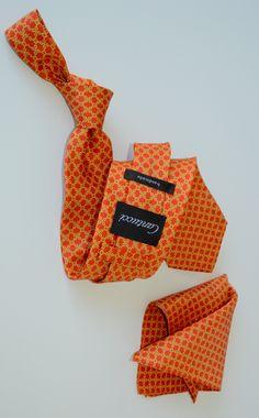 Cantucci-silk-tie-orange