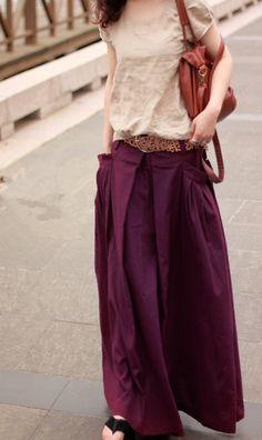 women-casual-wide-leg-long-linen palazzo pants perfect for summer