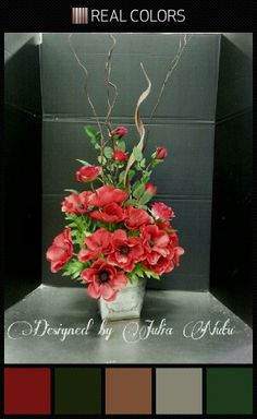 Spring floral arrangement by Julia Nutu at Michaels Store Cambridge ON