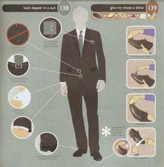 Look dapper in a suit