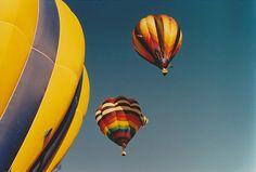 Balão De Ar Quente, Balão, Colorido