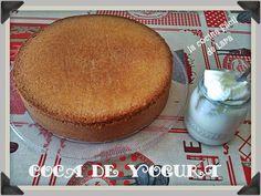 la cocina facil de lara: Bizcocho de yogur o coca de Danone.¿Lo convertimos en…