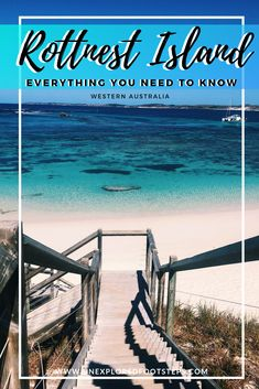 Rottnest Island is a beautiful little island off the West Coast of Australia, closest to the city of Perth. Coast Australia, Western Australia, Australia Travel, Visit Australia, Perth Australia, Travel Advice, Travel Guides, Travel Tips, Travel Plan