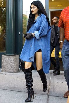 Kylie Jenner New York Street Style  #KylieJenner #NewYork