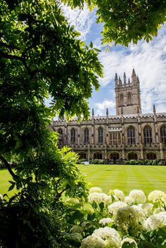 allthingseurope: Magdalen College, Oxford (by Jon Philpott Photography / Flickr) — FUCKITANDMOVETOBRITAIN