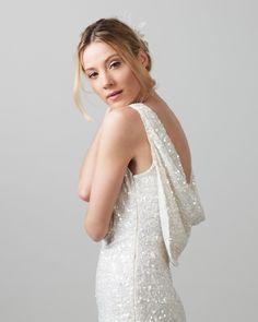 d0863d74d1b Phase Eight Talunia Sequin Full Length Dress Neutral Bester Brautkleider