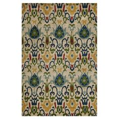 I pinned this Alandi Ikat Rug from the Momeni event at Joss and Main!