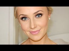 Bridal Makeup Tutorial. I LOVE her video's. This is a great natural look for brides or for a special event!
