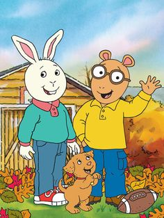 Arthur---my boys loved watching this show!