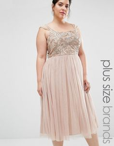 0af89055 Lovedrobe Luxe Mini Dress With Tulle Skirt And Embellishment Blush  Bridesmaid Dresses Short, Blush Pink