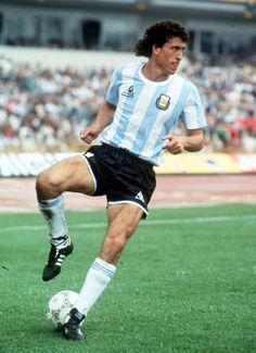 Jorge Valdano, a efficient arsenal in Maradona World Cup winning Team. Best Football Players, Good Soccer Players, National Football Teams, World Football, Soccer Stars, Sports Stars, Football Uniforms, Football Jerseys, Old Boys