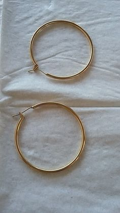 Boucles d oreilles créoles plaqué or