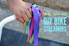 Spring Break DIY Idea: Decorate Your Kid's Bike!
