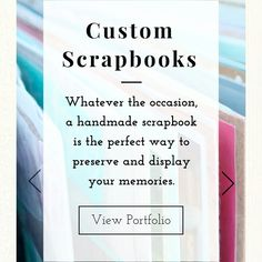 Handmade scrapbooks make the perfect gift for any occasion! Handmade Scrapbook, Scrapbooking Ideas, Scrapbooks, Artsy Fartsy, Memories, How To Make, Gifts, Presents, Scrapbook