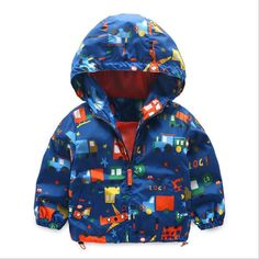 GYMBOREE KING OF COOL BLUE CAMOUFLAGE HOODED JACKET 6 12 24 2T 3T 4T 5T NWT