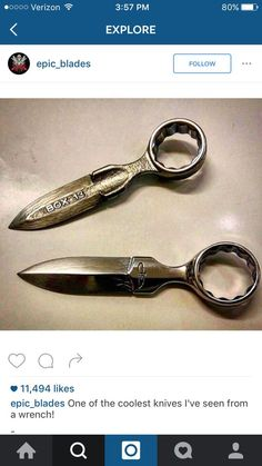 Wrench knives: