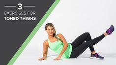 Toning your legs can be a challenge. These exercises from Anna Victoria simplify your efforts!