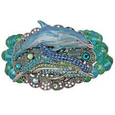 Kirks-Folly-Liberty-Dolphin-Stretch-Bracelet-Underwater-Fantasy
