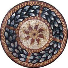 Geometric Mosaic Pattern - Mulini