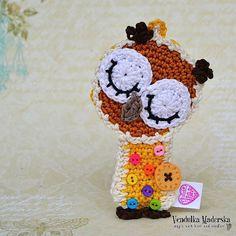 Crochet owl ornament pattern.  $5.00 for pattern 6/14.