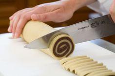 Secrets to pinwheel and checkerboard cookies. Chocolate and vanilla doughs dance cheek to cheek.