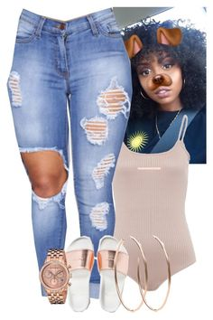 """""""Untitled #326"""" by muvaaliyah ❤ liked on Polyvore featuring 88 RUE DU RHONE, Tara 4779 and Michael Kors"""
