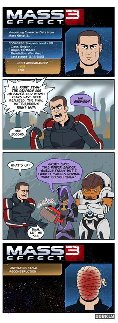 How else are they gonna come up with an excuse? #MassEffect