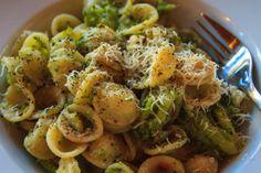 Anchovies, Broccoli & Orecchiette - from start to finish in 20 minutes!