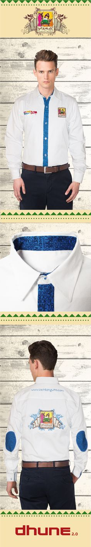 Camisa color blanco - manga larga - cortes sublimados - La chilanguita