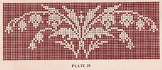 Sentimental Baby: Vintage 1920s Filet Crochet and Cross Stitch Patterns sentimentalbaby.blogspot.nl
