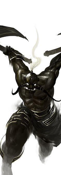 black II by tobiee.deviantart.com on @DeviantArt