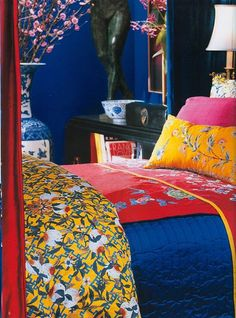 The Chinoiserie Bedroom