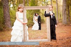 Super cute #Wedding #Photography ideas for Flower Girl + Ring Bearer shots